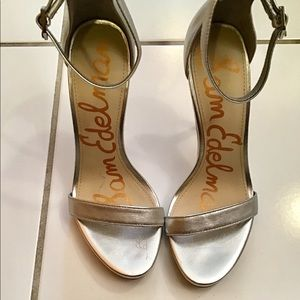Sam Edelman Leather Heel Sandals